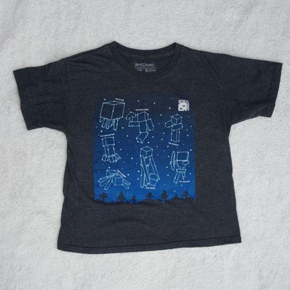 d38950fb7 Mojang Shirts & Tops   Minecraft Constellation Tshirt Large   Poshmark